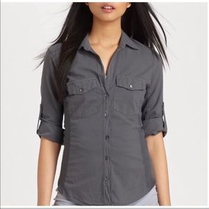 Standard James perse 100% cotton button down